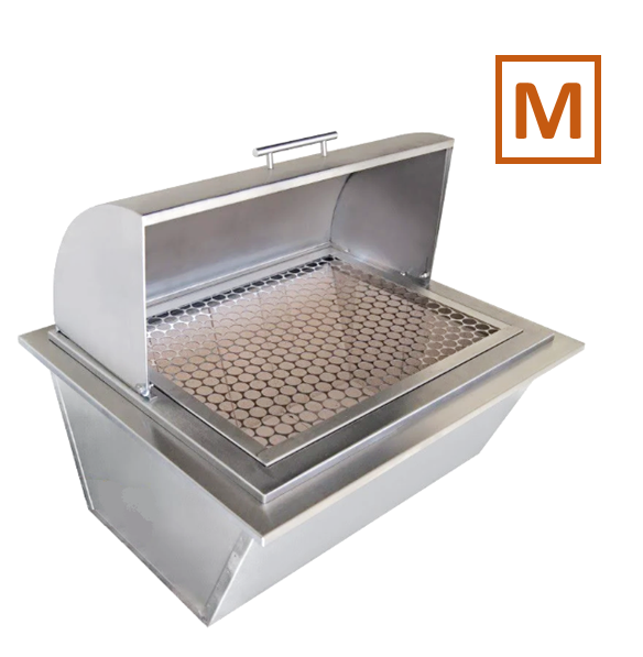 Kit Forno de Pizza + Braseiro | M